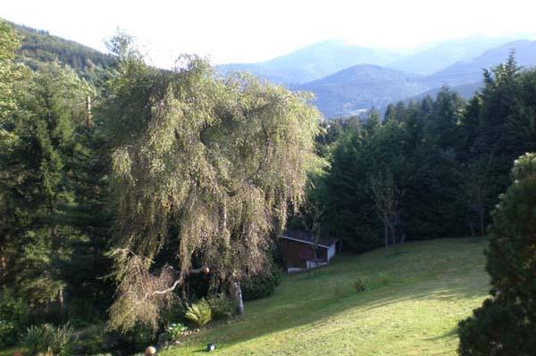 La vue sur la vallée